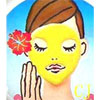 Yellow Saint Face Mask
